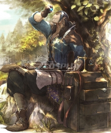 Octopath Traveler Conquerors Of The Continent Gilderoy Cosplay Costume
