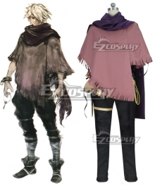 Octopath Traveler Therion Cosplay Costume