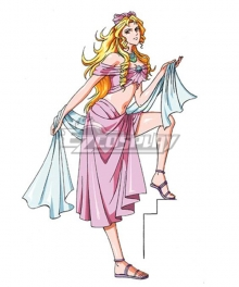 Olympus Guardian Aphrodite Cosplay Costume