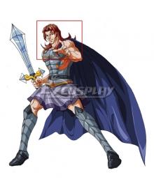 Olympus Guardian Ares Brown Cosplay Wig