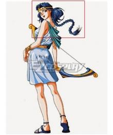 Olympus Guardian Artemis Blue Cosplay Wig