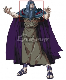 Olympus Guardian Hades Gray Cosplay Wig