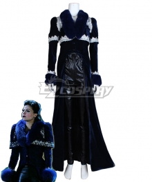 Once Upon a Time Regina Mills Dress Cosplay Costume