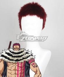 One Piece Charlotte Katakuri Red Cosplay Wig