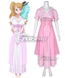 One Piece Charlotte Pudding Cosplay Costume