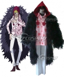 One Piece Corazon Donquixote Rosinante Cosplay Costume