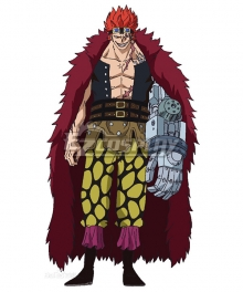 One Piece Eustass Kid Cosplay Costume