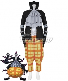 One Piece Gecko Moria Cosplay Costume