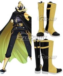 One Piece Germa 66 Sanji Vinsmoke Golden Shoes Cosplay Boots