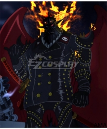 One Piece King Cosplay Costume