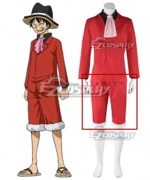 One Piece Monkey D Luffy Red New Cosplay Costume - Only Pants