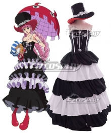 One Piece Perona Ghost Princess After 2Y Cosplay Costume