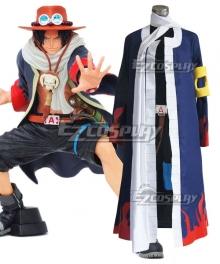 One Piece Portgas D Ace Alabasta Cosplay Costume