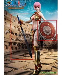 One Piece Rebecca Sword Shield Cosplay Weapon Prop