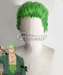 One Piece Roronoa Zoro Green Cosplay Wig