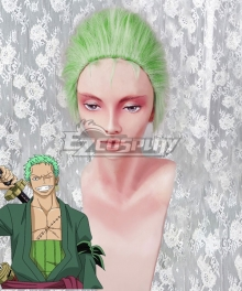 One Piece Roronoa Zoro Green Cosplay Wig