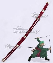 One Piece Roronoa Zoro Sandai Kitetsu Sword Scabbard Cosplay Weapon Prop