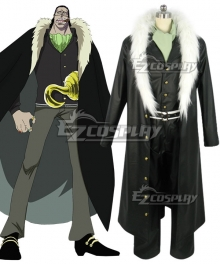 One Piece Sir Crocodile Desert King Cosplay Costume