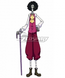 One Piece: Stampede 2019 Movie Brook Cosplay Costume