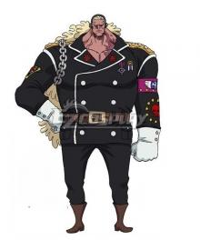 One Piece: Stampede 2019 Movie Douglas Bullet Cosplay Costume
