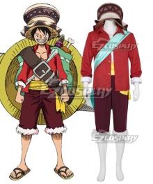 One Piece: Stampede 2019 Movie Monkey D Luffy Cosplay Costume