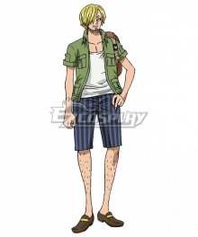 One Piece: Stampede 2019 Movie Sanji Vinsmoke Cosplay Costume