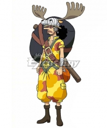 One Piece: Stampede 2019 Movie Usopp Cosplay Costume