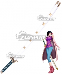 One Piece Tashigi Sword Cosplay Weapon Prop