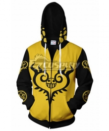 One Piece Trafalgar D Law  Hoodie Cosplay Costume