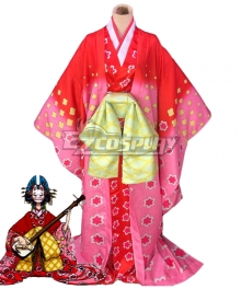 One Piece Wano Country Arc Komurasaki Kozuki Hiyori Cosplay Costume