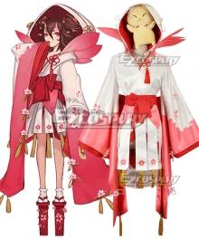 Onmyoji Yuki Onna Default Cosplay Costume