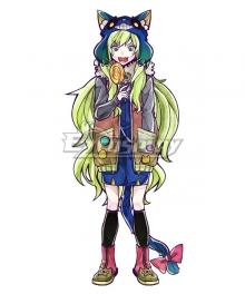 Ookami Game Wolf Game Kamiki Ritsu Cosplay Costume