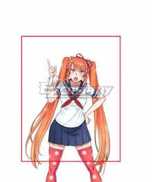 Osana Najimi Orange Cosplay Wig