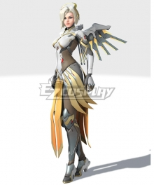 Overwatch 2 OW Mercy Cosplay Costume
