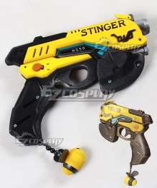 Overwatch OW D.Va DVa Hana Song Bee B.Va Gun Cosplay Weapon Prop