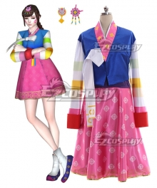Overwatch OW D.Va DVa Hana Song Palanquin Cosplay Costume