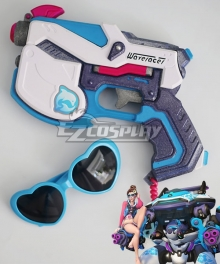 Overwatch OW D.Va DVa Hana Song Waveracer D.VA Gun Cosplay Weapon Prop