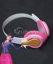 Overwatch OW Dva Hana Song Academy D․Va Headset Cosplay Accessory Prop