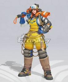 OverWatch OW Feskarn Brigitte 2020 Summer Games Cosplay Costume