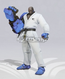 OverWatch OW Karate Doomfist 2020 Summer Games Cosplay Costume