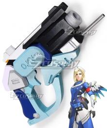 Overwatch OW Mercy Combat Medic Ziegler Gun Cosplay Weapon Prop