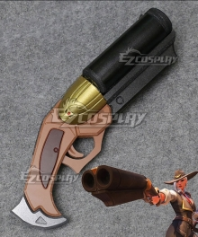 Overwatch OW New Hero Ashe Coach Gun Cosplay Weapon Prop