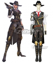 Overwatch OW New Hero Ashe Cosplay Costume - A Edition