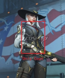 Overwatch OW New Hero Ashe Cosplay Costume - Only Coat