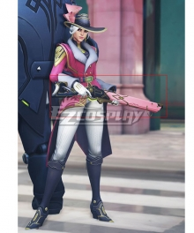Overwatch OW New Legendary Storm Rising Ashe Rifle Cosplay Weapon Prop