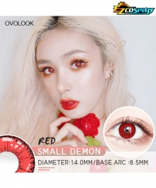 OVOLOOK Small Demon Celestia Ludenberg Shoto Todoroki Akira Kurusu Ren Amamiya Little Devil Red Cosplay Contact Lense