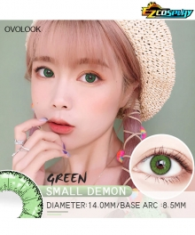 OVOLOOK Small Demon Little Devil Green Hajime Hinata Makomo Jonathan Joestar Cosplay Contact Lense