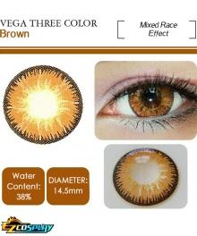 OVOLOOK Vega Brown Yellow Hiyoko Saionji Denki Kaminari Leone Abbacchio Cosplay Contact Lense
