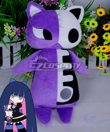Panty And Stocking With Garterbelt Stocking Plush Doll Cosplay Accessory Prop