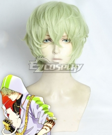 Paradox Live Masaki Hokusai Green Cosplay Wig